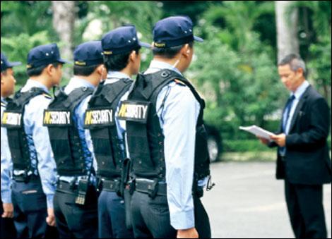 dịch vụ bảo vệ chuyên nghiệp
